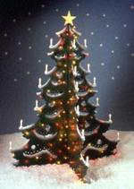 31-OFS-1030 - Oh Christmas Tree Yard Art Woodworking Plan.