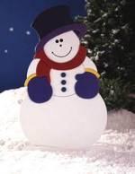 Fun Loving Frosty Woodworking Plan.