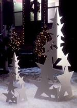 Christmas Star Trees Woodworking Plan.