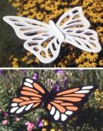 fee plans woodworking resource from WoodworkersWorkshop Online Store - butterfly,butterflies,wooden,yard art,large,wooden,plywood,fee woodworking plans,projects,patterns,blueprints,build,construction,how to,diy,do-it-yourself