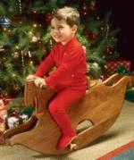 31-TS-1001 - Thoroughbred Rocking Horse Woodworking Plan