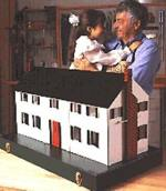 fee plans woodworking resource from WoodworkersWorkshop Online Store - dollhouse,doll house,storage case,take apart,knock down,childrens,childs,kids,girls,fee woodworking plans,projects,patterns,blueprints,build,construction,how to,diy,do-it-yourself