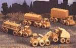 Wrecker Dump Truck Heavy Haulers Woodworking Plan