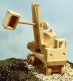Excavator Steam Shovel Woodworking Plan