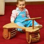 Toddler Town Car Woodworking Plan.