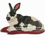 fee plans woodworking resource from WoodworkersWorkshop Online Store - intarsia,Easter bunny,rabbit,animal,Kathy Wise,scrollsaw patterns,woodworking plans,scrollsawing projects,blueprints