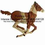 36-KW128 - Running Colt Intarsia Woodworking Pattern