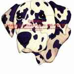 36-KW130 - Dalmatian Head Intarsia Woodworking Pattern