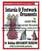 fee plans woodworking resource from WoodworkersWorkshop Online Store - intarsia,booklet,christmas,halloween,Kathy Wise,nativity,fretwork,ornaments,scrollsaw patterns,woodworking plans,scrollsawing projects,blueprints