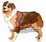 fee plans woodworking resource from WoodworkersWorkshop Online Store - intarsia,dogs,australian shepherd,animals,Kathy Wise,scrollsaw patterns,woodworking plans,scrollsawing projects,blueprints