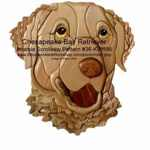 36-KW196 - Chesapeake Bay Retriever Intarsia Woodworking Pattern