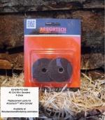 Mini Sander Discs 40 Grit 4 pk for Arbortech Mini Grinder Power Tool