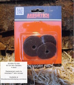 Mini Sander Discs 60 Grit 4 pk for Arbortech Mini Grinder Power Tool