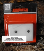 Tungsten Carbide Teeth 2 pk for Arbortech™ Mini-TURBO Blade, tungsten carbide teeth,round,mini,wood carving,planing blades,carbide teeth,cutters,angle grinder,replacement parts,maintenance,replacement parts,accessories,forestry,Arbortech™,Arbourtech,wood carvin
