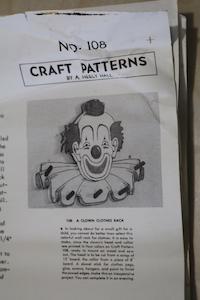 A Clown Clothes Rack