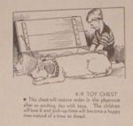 K-9 Toy Box Vintage Woodworking Plan, toy boxes,storage chests,dogs,pups,pets,childrens,childs,kids,toys,full sized patterns,vintage woodworking plans,old projects,recycled,woodworkers projects,blueprints,drawings,blueprints,how-to-build