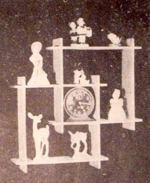 Smart Knick-Knack Shelves Vintage Woodworking Plan