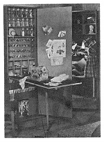 Home Sewing Center Vintage Woodworking Plan