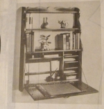 Antique Wall Hutch with Built In Desk Vintage Woodworking Plan