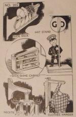 Personal Grooming Organizers Vintage Woodworking Plan Set of 5
