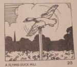 R-ANH0215 - A Flying Mallard Duck Windmill Vintage Woodworking Plan.