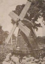 A Dutch Windmill Vintage Woodworking Plan.