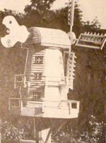 Old Dutch Windmill Woodworking Plan.