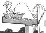 Fisherman Windmill Vintage Woodworking Plan.