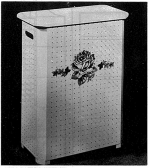 R-ANH0277 - Clothes Hamper Vintage Woodworking Plan