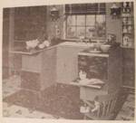 Kitchen U-Shape Work Center Vintage Woodworking Plan