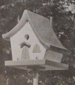 Fairy Story Wren Hut Vintage Woodworking Plan