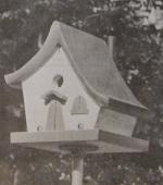 Fairy Story Wren Hut Vintage Woodworking Plan