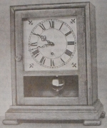 R-ANH0352 - Connecticut Mirror Clock Vintage Woodworking Plan