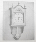R-ANH0360 - Picturesque Wall Clock Vintage Woodworking Plan