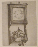 R-ANH0365 - Antique Wall Clock and Planter Vintage Woodworking Plan