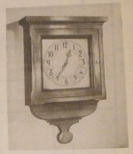 R-ANH0366 - Colonial Wall Clock Vintage Woodworking Plan