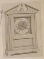 R-ANH0368 - Minute Man Shelf Clock Vintage Woodworking Plan.