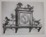 Decorative Planter Clock Vintage Woodworking Plan