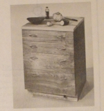 Roll Around Kitchen Unit Vintage Woodworking Plan