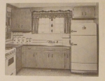 R-ANH0383 - Offset Doors Keep Wall Cabinets Dust Free Vintage Woodworking Plan