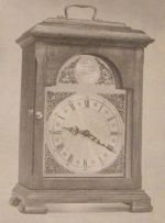 Bow Dial Bracket Clock Vintage Woodworking Plan