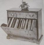 Tilt Front Cabinet Vintage Woodworking Plan