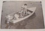 Plywood V-Bottom Outboard Boat Vintage Woodworking Plan.
