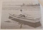 R-ANH0628 - A Flat Bottomed Rowboat Vintage Woodworking Plan.