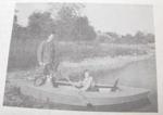 Teal Watercraft Boat Vintage Woodworking Plan
