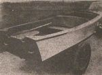 V-Bottom Runabout Boat Vintage Woodworking Plan