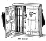 Gun Cabinet Vintage Woodworking Plan woodworking plan
