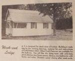 Week-End Lodge Vintage Woodworking Plan.