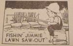Fishin Jimmie Lawn Saw-Out Vintage Woodworking Plan