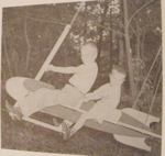 Rocket Swing Vintage Woodworking Plan
